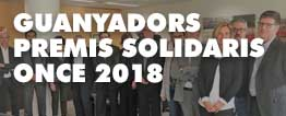 GUANYADORS PREMIS SOLIDARIS ONCE 2018