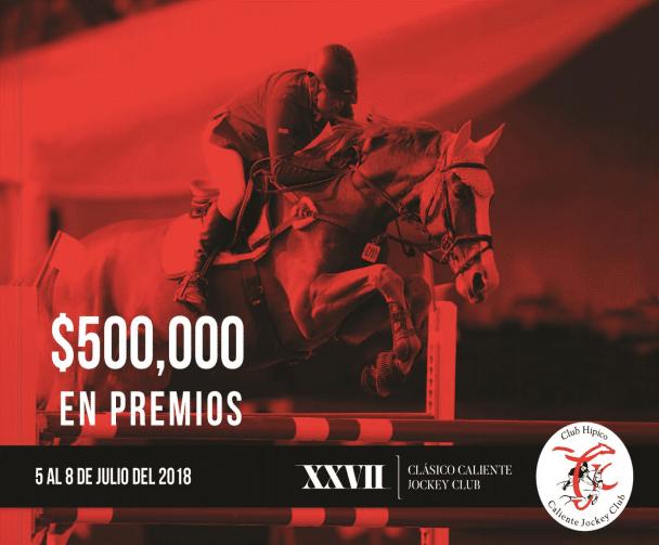 Convocatoria XXVII Clásico Caliente Jockey Club 2018