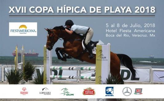 Convocatoria XVII Copa Hípica de Playa Veracruz 2018