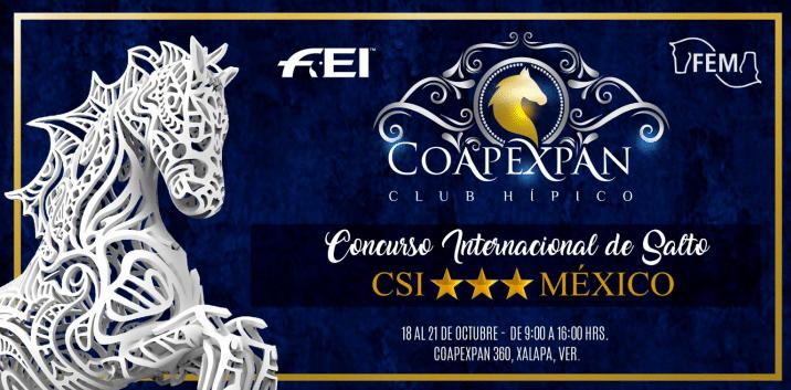 Convocatoria CSI3* Coapexpan Otoño 2018