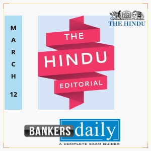 the hindu editorial march 12 2018