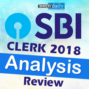 SBI CLERK PRELIMS 2018 - Review of SLOT 1