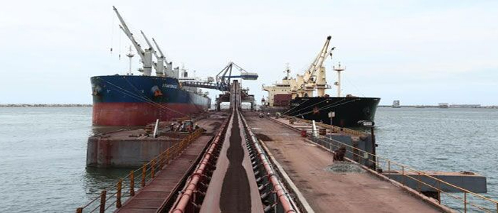 Essar-builds-country's-largest-iron-ore-handling-unit-in-Vizag