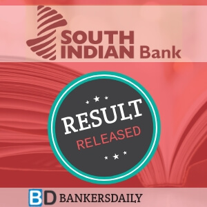 SOUTH INDIAN BANK PO 2018 - PGDBF MANIPAL Results Released