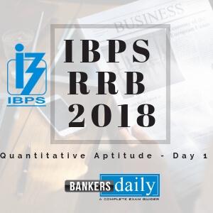 Remove term: IBPS RRB 2018 - Practice Questions IBPS RRB 2018 - Practice Questions