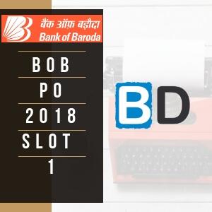 BOB PO 2018 Prelims Exam - Bankersdaily