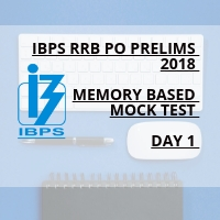 MEMORY BASED PAPER - IBPS RRB PO 2018 PRELIMS EXAM