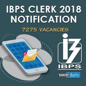 IBPS CLERK 2018 - Official Notification - PDF Download