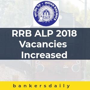 RRB ALP 2018 Vacancies Increased to 64,371 – Update Released