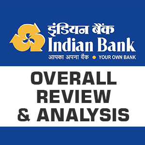 Indian Bank - Overall Review Analysis - Bankersdaily