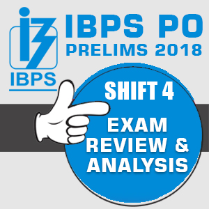 IBPS PO PRELIMS EXAM 2018 REVIEW, ANALYSIS AND QUESTIONS ASKED IN EXAM –OCTOBER 14, 2018 – SLOT 4 - Day 2