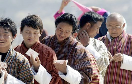 a) The Bhutan vote - Bankersdaily