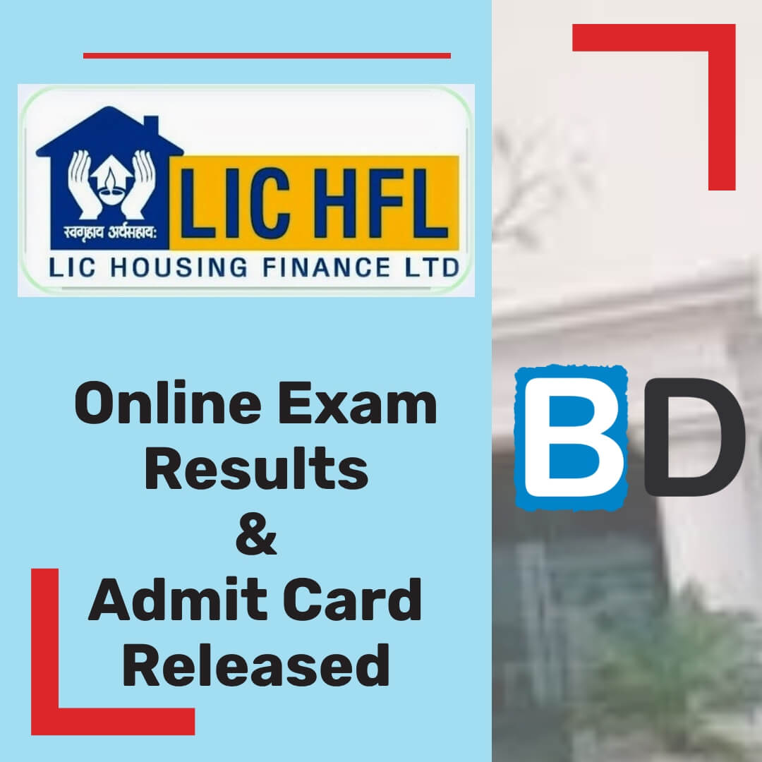 LIC Housing Finance 2018 Results & Interview Admit Card Released - Bankersdaily