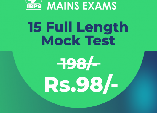 IBPS PO Mains Exam 2018 | 15 Online Mock Test Series - Bankersdaily
