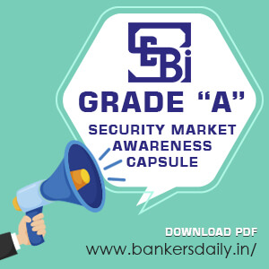 "SEBI Grade ""A"" 2018 - Securities Market Awareness Capsule Download [PDF]"