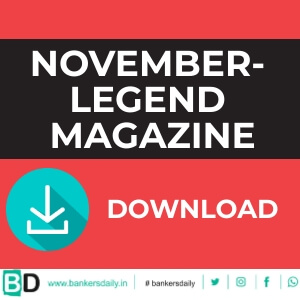 November - LEGEND MAGAZINE - NOVEMBER 2018 - Bankersdaily