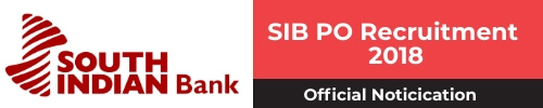 SIB PO Recruitment 2018 - PGDBF - Official Notification PDF - bankersdaily