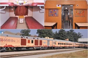 Indian Railways launched new Buddhist Circuit Tourist Train for the 16-day pilgrimage tour - Bankersdaily