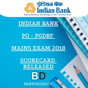 Indian Bank PO Mains Scorecard & Interview Call Letter Released : Check Now
