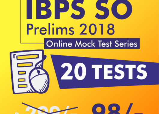 IBPS SO Prelims | Online Mock Test Series | Agriculture | IT | Marketing