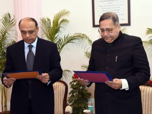 Dr. T.C.A Anant takes Oath of Office and Secrecy as Member, UPSC - Bankersdaily