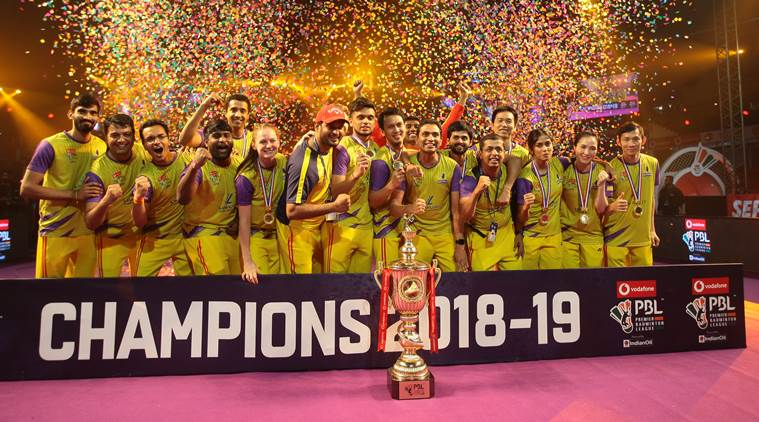 Bengaluru Raptors win Premier Badminton League title - Bankersdaily