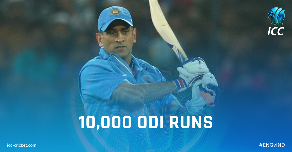Dhoni joins elite list of Indian cricketers to score ten thousand runs - Bankersdaily
