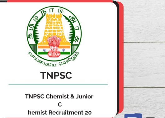 TNPSC Chemist & Junior Chemist Recruitment 2019 - Bankersdaily
