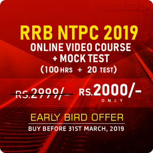 Get RRB NTPC Video Course for Just Rs. 1999/-