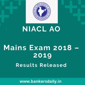 NIACL AO Mains Result Out | Check NIACL AO 2018-19 Result