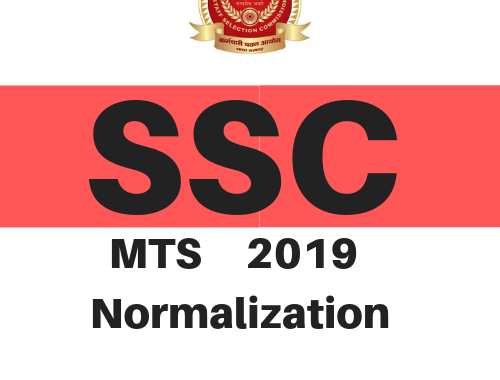 SSC MTS 2019 - Normalization - Detailed Explanation