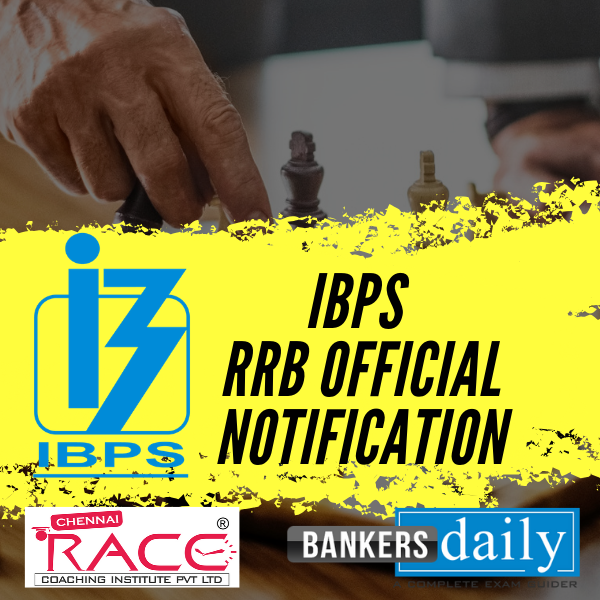 IBPS RRB Notification 2019 Released – 8334 Vacancies – Official Notification