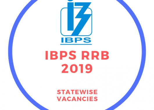 IBPS RRB 2019 State-wise Vacancies : 8000+ Vacancies