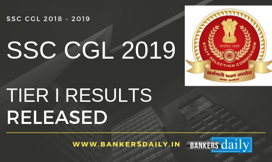 SSC CGL 2019 Tier I Results Released: Official Cutoff Marks Released