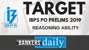 TARGET IBPS PO Prelims 2019_Reasoning