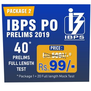 IBPS PO Prelims Exam 2019 - Online MOCK TEST SERIES - Best - Bankersdaily & Race Institute