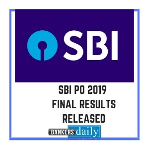 SBI PO 2019 - Final Results Released