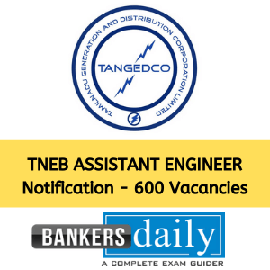 TNEB Assistant Engineer (AE) Recruitment (TANGEDCO) 2020 – 600 Vacancies