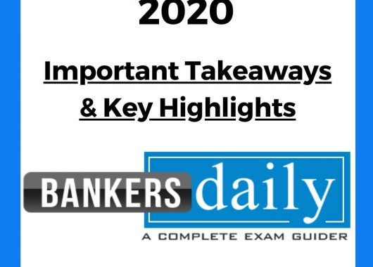 Union Budget 2020 - Important Takeaways & Key Highlights for Exams [Download PDF]