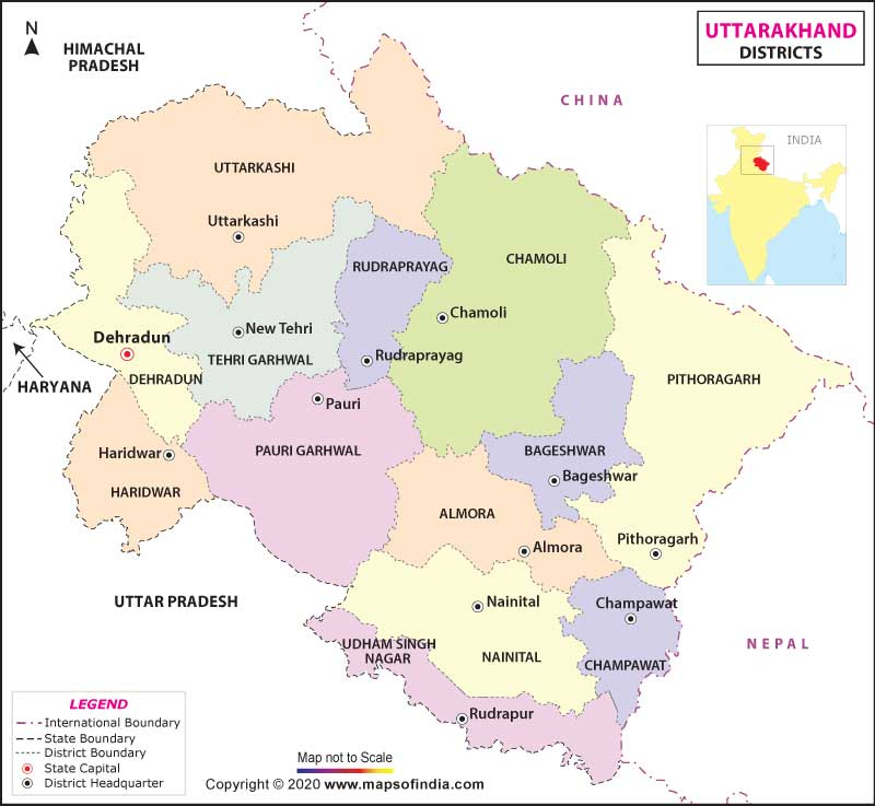 uttarakhanddistrict-map