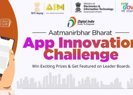 MeitY-NITI Aayog launches Digital India Aatmanirbhar Bharat App Innovation Challenge: