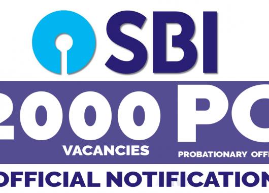 SBI PO 2020 Notification Released : 2000 Vacancies