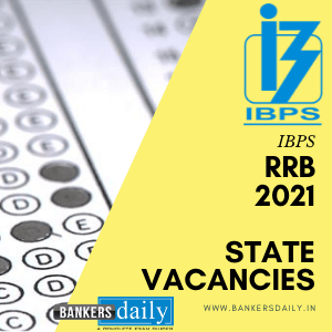 IBPS RRB 2021 - Statewise Vacancies