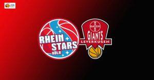 JBBL: RheinStars Köln vs. Bayer Giants Leverkusen