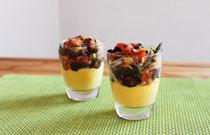 Raclette polenta