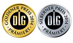 Dlg 2014 gold und silber