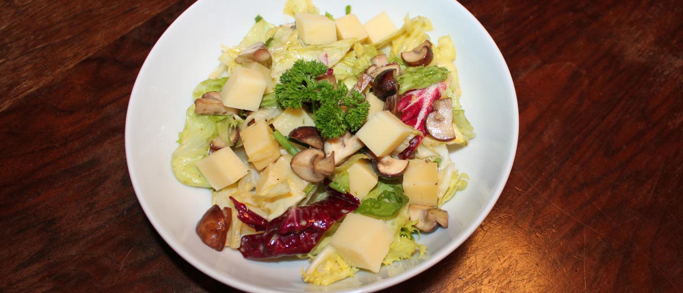 Salat pilze