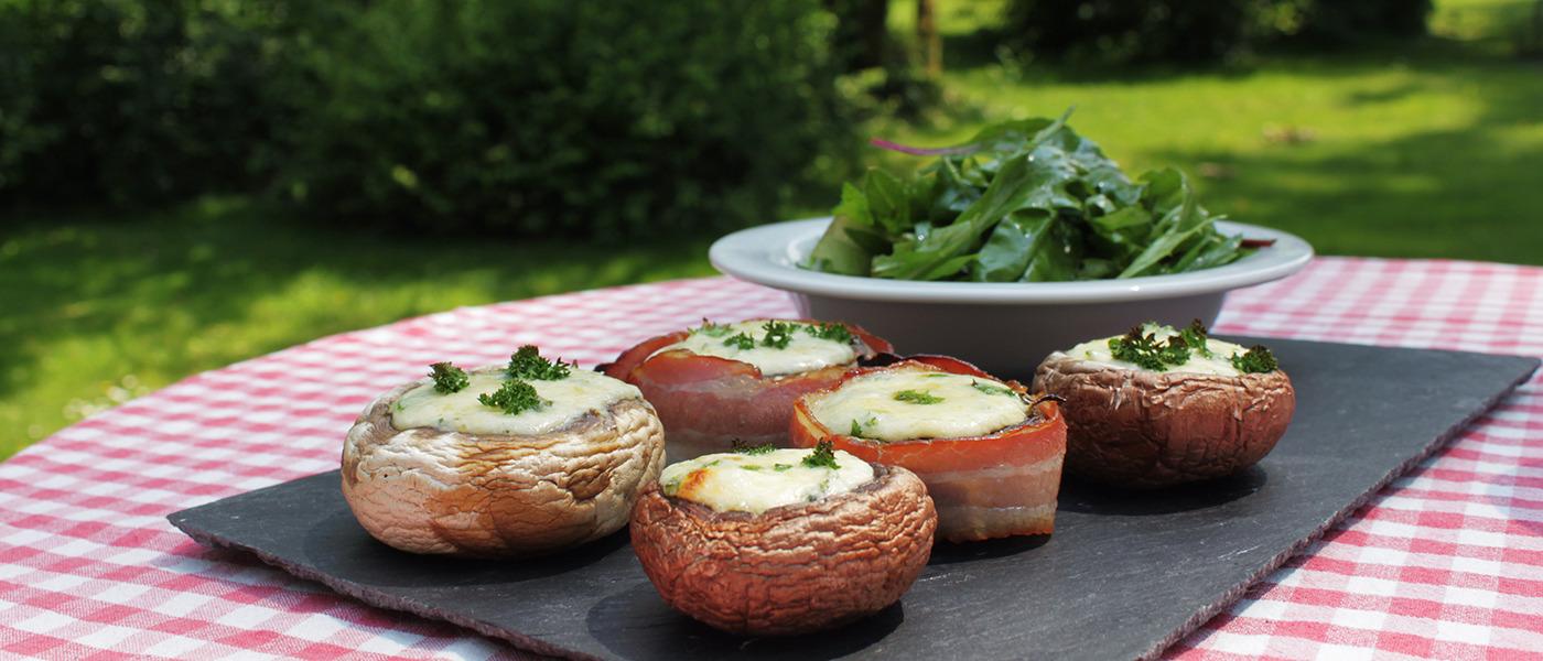Gef%c3%bcllte champignons