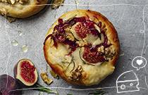 Brioche tarte mit feigen 210x135