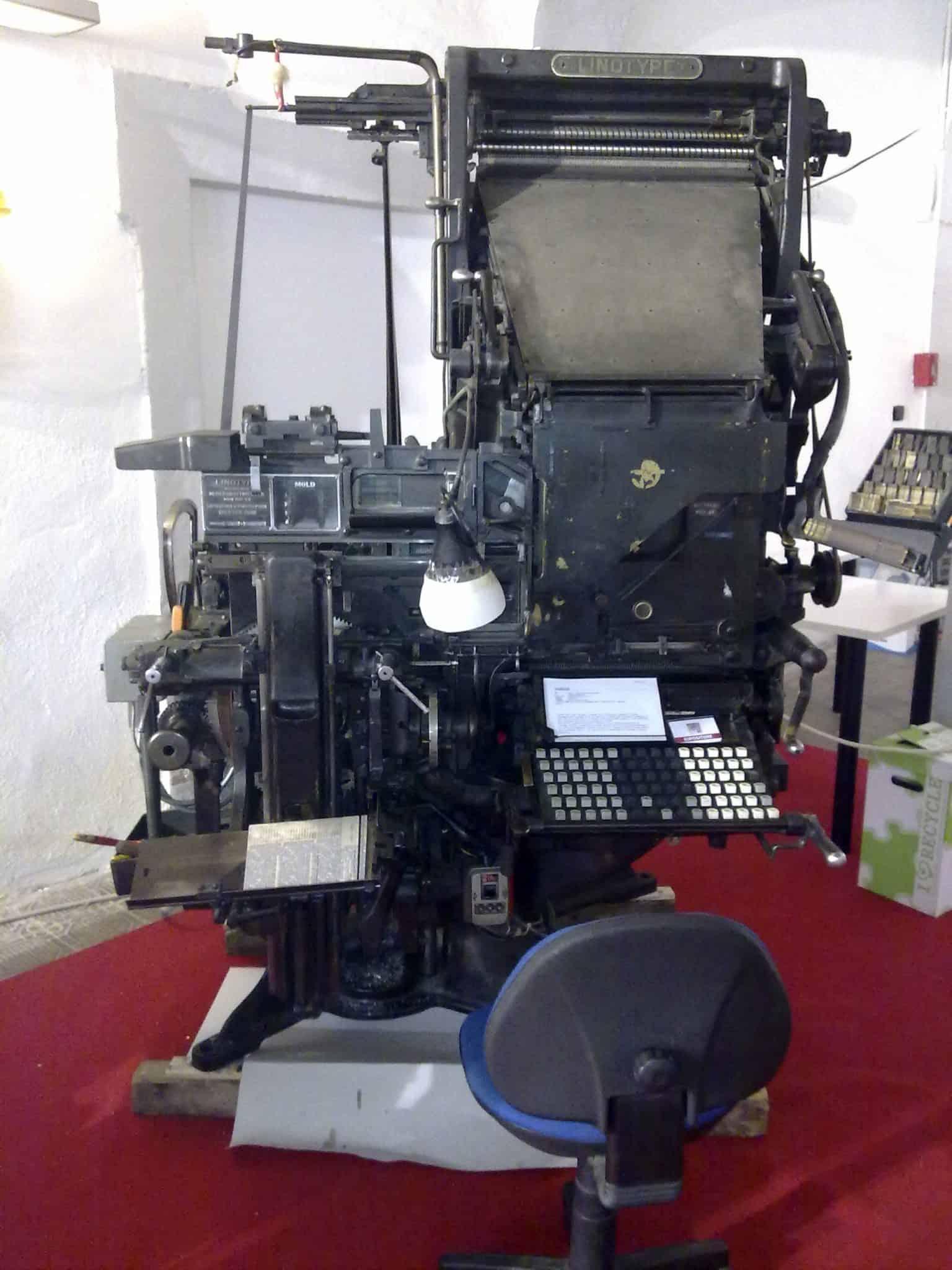 La Linotype sul tappeto rosso a Tolentino Expo 2012